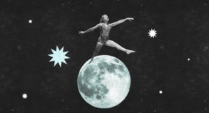 Once in a Blue Moon, Exploring the Liminal Space Between Two Worlds